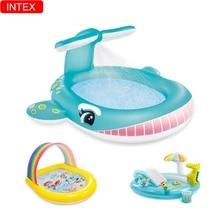 Playing Pool Baby Swimming Pool Cartoon Animal Play Pool Water Spray Inflatable Intex  Play Toy Pool Slide Pool Swimming Pool