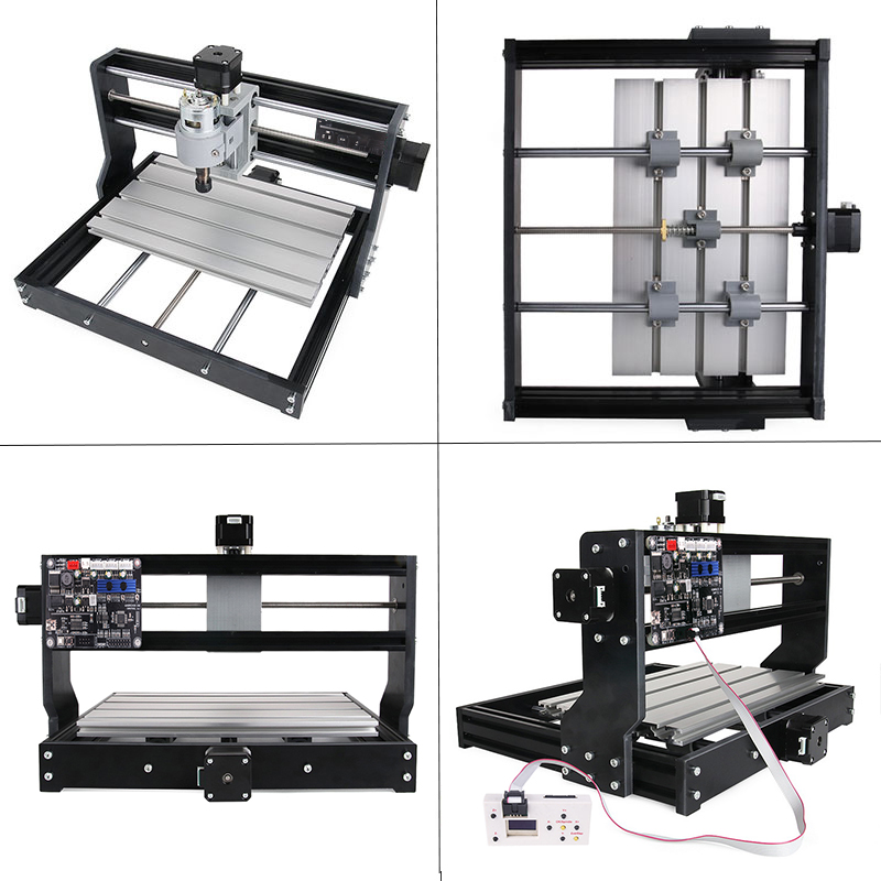 Mini Laser 3018 Pro CNC Machine With Offline Controller For Wood PCB PVC
