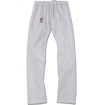 Children 100 Cotton Taekwondo Pants Adult Taekwondo Clothing White Black Trousers Men Women Taekwondo Training