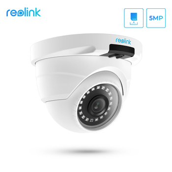 Reolink Security Camera Dome 5MP SD Card Slot CCTV Night vision Video Surveillance RLC-420 - discount item  56% OFF Video Surveillance
