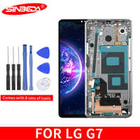 "6.1""Sinbeda For LG G7 LCD Display Touch Screen Digitizer Assembly G710 LCD For LG G7 ThinQ G7 Display"