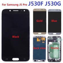 Do Samsung Galaxy J5 Pro (2017) j530F J530G J530F DS J530G DS wyświetlacz LCD ekran dotykowy z ramką tanie tanio szhadwing Pojemnościowy ekran Nowy 1920x1080 J5 2017 LCD i ekran dotykowy Digitizer 5 0 inch Tested one by one Adjustable