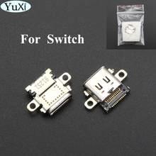 YuXi 1 sztuk Port ładowania nowy gniazdo wymiana typu C złącze USB dla konsoli Nintendo Switch NS
