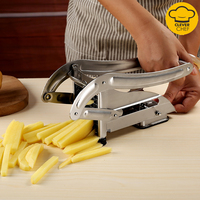 Stainless Steel French Fry Potato Chipper Cutter Potato Chip Making Kitchen Gadgets Kitchen Cooking Tools Food Cutting Machine 1