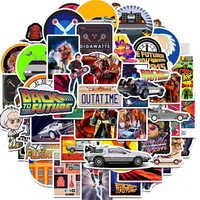 50Pcs Film Ritorno Al Futuro Adesivi Pack per Il Telefono Del Computer Portatile Del Frigorifero di Skateboard borsa Da Viaggio Valigia Sticker