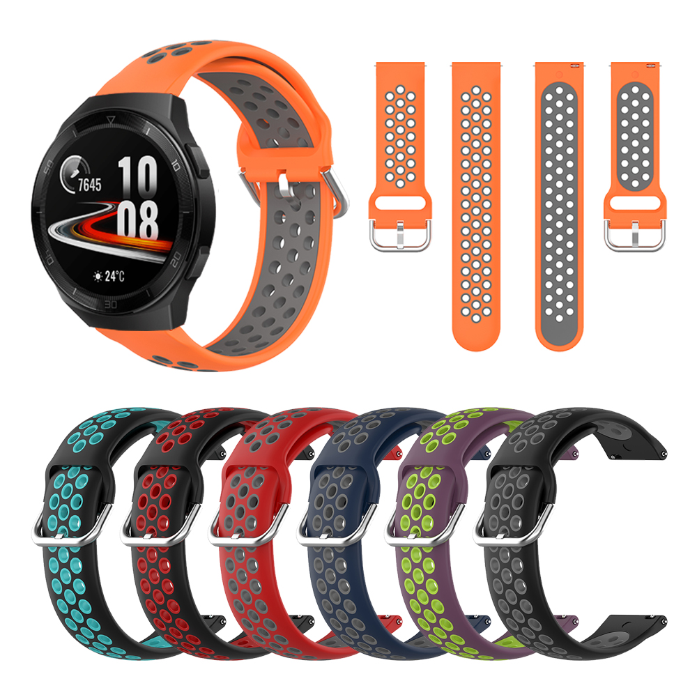 Silicone Watchband Band For HUAWEI WATCH GT 2e GT2e Smartwatch Wrist Strap Replacement Bracelet ремешок
