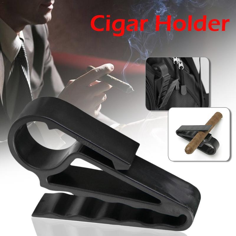 Car Boat Golf Cigar Holder Golf Handle Clip Tail Clamp Golf Club Equipment Accessories