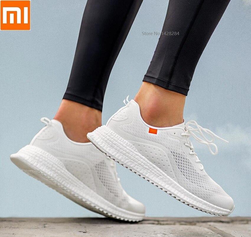 Xiaomi 90 мужские кроссовки для бега дышащий для занятий спортом на улице кроссовки спортивные амортизирующие мужские противоударные подошвы ...