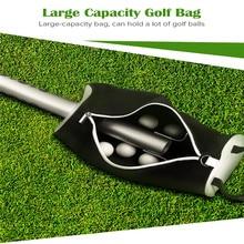 BOBLOV Golf Ball Pick Up Shag Bag Portable Pocket Storage golf Shagger Retriever