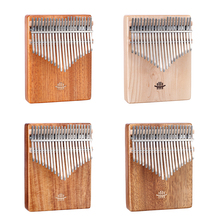 Thumb-Piano Kalimba Hammer-Scale Instrument-Accessories 21-Keys Tuning Musical with Paper-Box