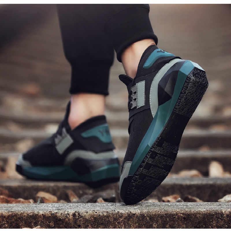 Koşu ayakkabıları erkekler için açık atletik spor ayakkabılar koşucular ayakkabı hafif nefes koşu Sneakers Zapatos Hombre