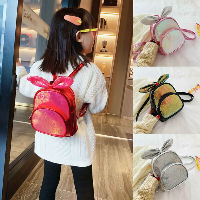 Popular Kids Boy Girl Children Backpack Toddler Cute School Bag Rucksack 1PC