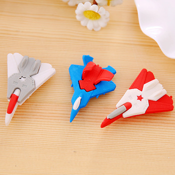 1pc Creative Cartoon Fighter Modeling Eraser Eraser Student Stationery Supplies Wholesale image