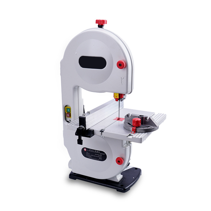 LIVTER  Vertical Mini 8 Inch Band Saw Machine For Woodworking,metal Cutting Machine MDF Board Cutting