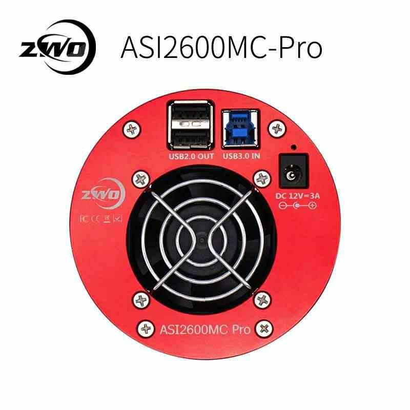 ZWO ASI2600 MC PRO USB3.0 охлаждением цвет астрономии камера ASI2600MC Аси 2600 MC Аси 2600MC ASI2600 ASI2600MC-Pro