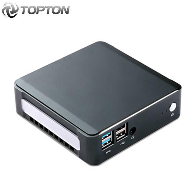 Novo mini pc windows 10 intel i7-10510U I5-10210U 2 * ddr4 m.2 nuc ultra compacto computador barebone tipo-c 4k 60hz hdmi2.0 dp