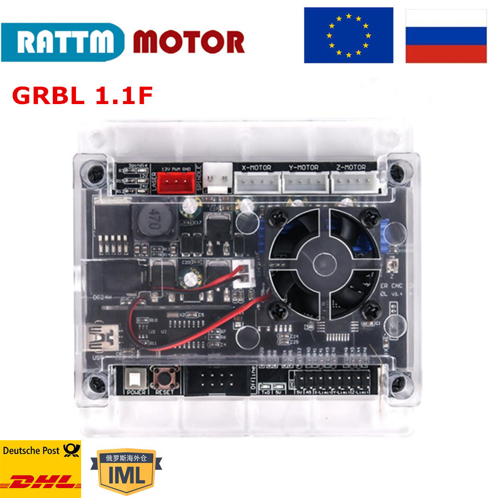New upgrade USB GRBL 1.1f  board CNC controller board 3 axis engraving machine support laser engraving Anti-jamming use off-line