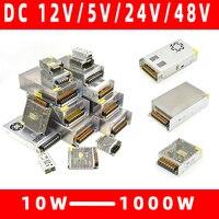 Transformadores de iluminação 110 v 220 v para dc 5 v 12 v 24 v 48 v 1a 3a 5a 10a 20a 30a 40a cctv led strip adaptador de alimentação Transformadores de iluminação    -