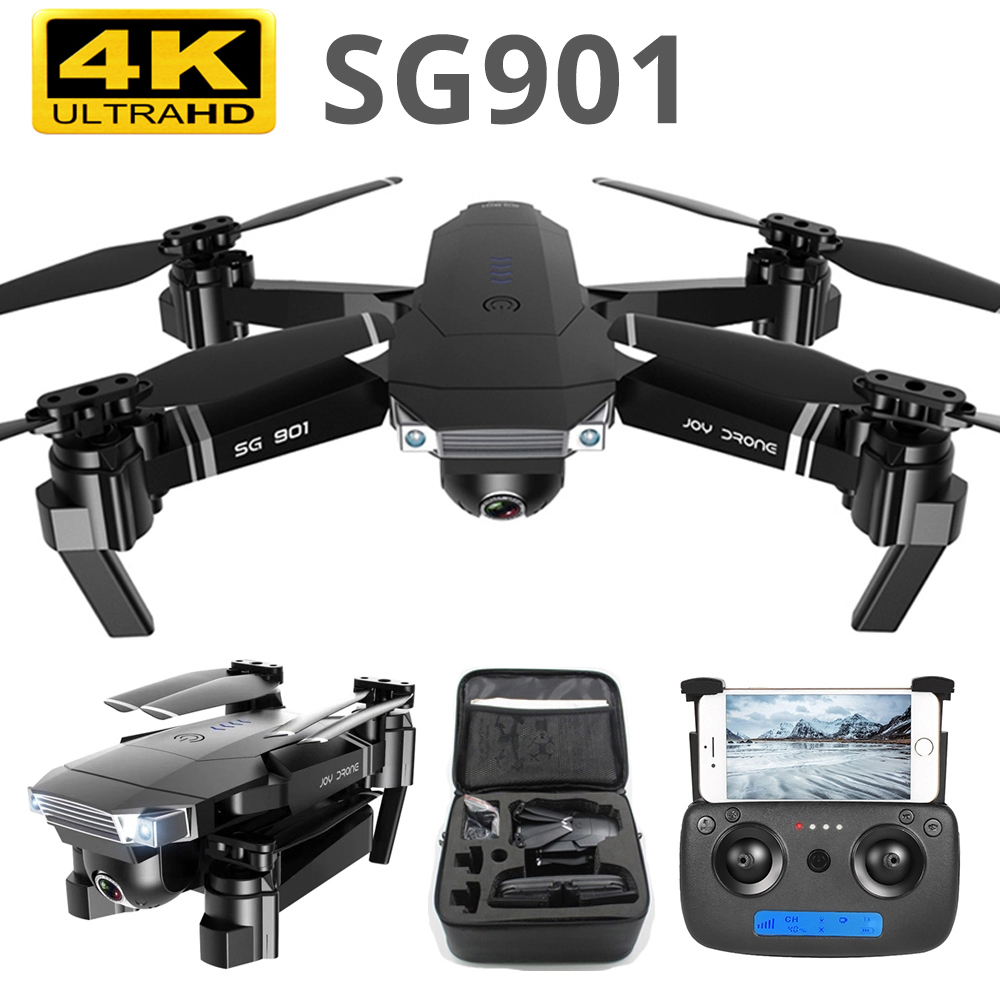 Drone SG901 4K Professional Folding Drone HD Camera 1080P WiFi Fpv Remote Control  Drone Flight 20 Minutes Quadcopter Drone Toy
