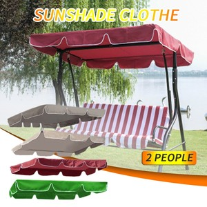 Garden Swing Canopy Top Cover Waterproof Outdoor Swing Chair Hammock Canopy Roof Canopy Replacement Swing Chair Awning#Y20