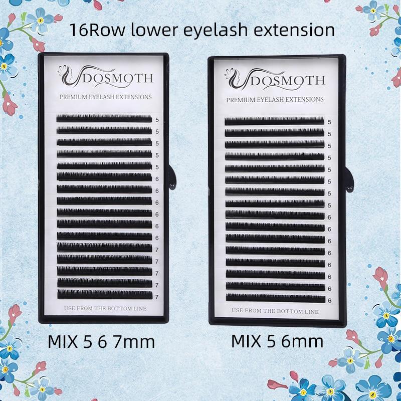 Lower Lashes Mix 5 6 7 Length Eyelash Extension Beauty Eyelash Soft Beauty Tools
