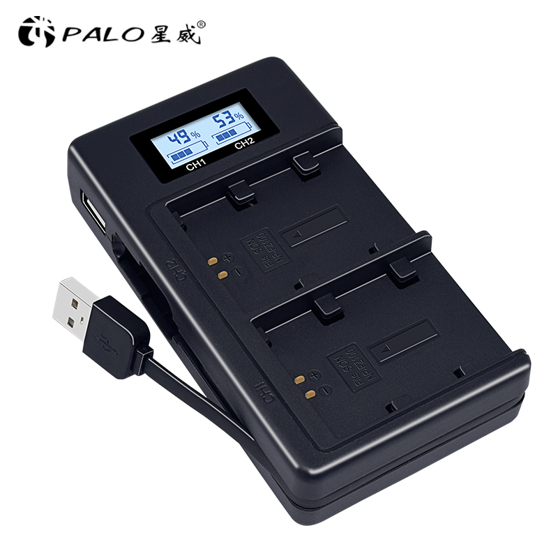 PALO NP-FZ100 NP FZ100 NPFZ100 camera battery fast charger for Sony Alpha a9 alfa a7R III A7R MARK 3. alfa a7 III A7 MARK 3