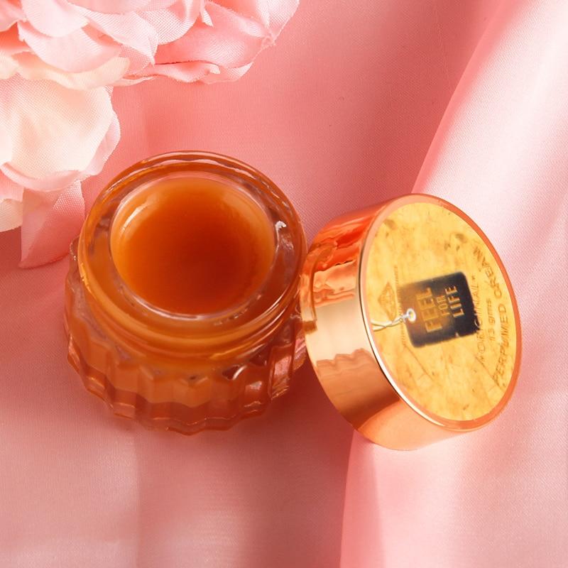 Natural Plant Lip Balm Moisturize Skin Solid Fragrance Romantic Fragrant Cream Solid Balm Skin Care