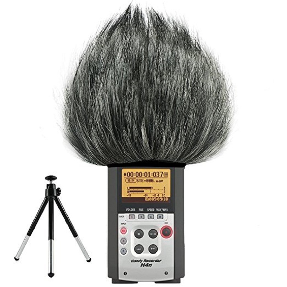 Windscreen Outdoor Recording Pen Muff Artificial Fur Accessories Shield Microphone Windshield Cover For ZOOM H4N H2N Microphone