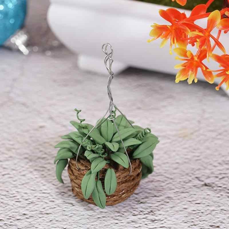1/12 simulación de casa de muñecas miniatura casa de muñecas accesorios de decoración planta modelo niños juguetes lindos para niños