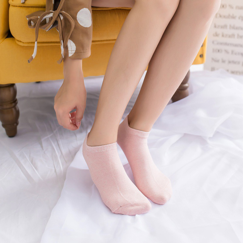 Women's High Quality Cotton Socks Shallow mouth 30