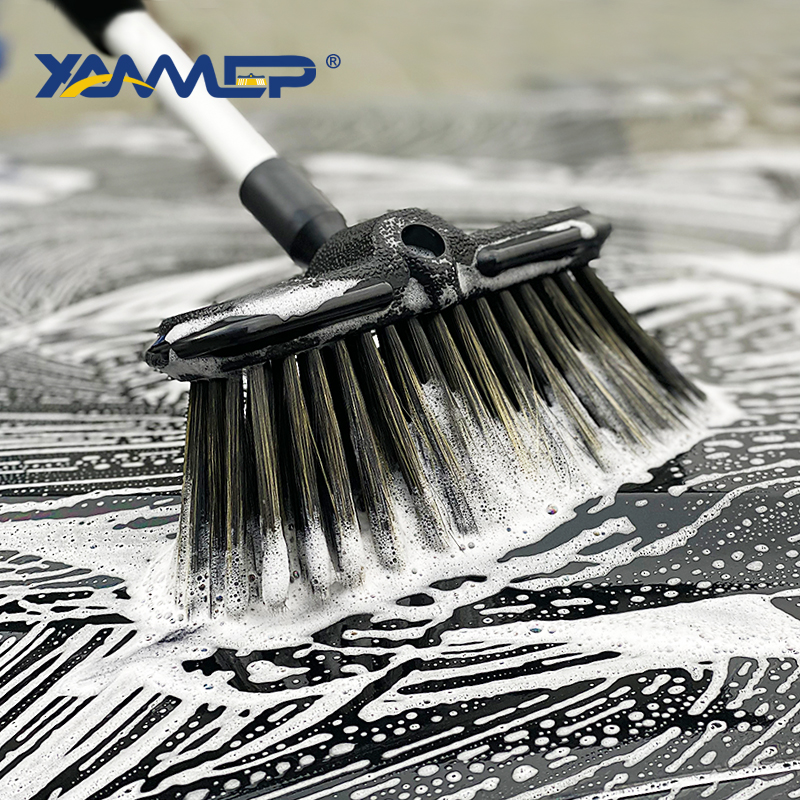 Car Wash Brush Cleaning Windows Water Flow Car Cleaning Tools Foam Bottle Car Accessories Cleaning Wheel Long Handle Xammep