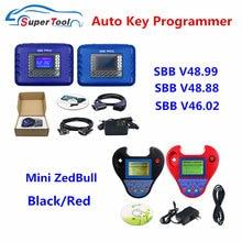 Auto programador chave sbb pro2 v48.99/48.88/46.02 + mini zedbull sbb fabricante chave do carro copiar chaves sbb 48.88 46.02 chave transponder