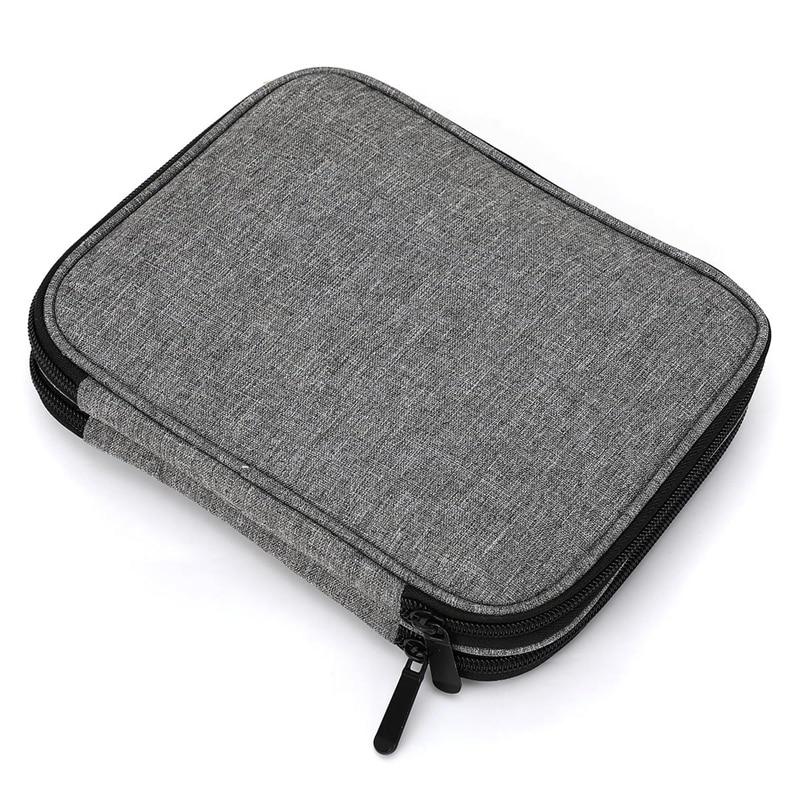 ABDB-Looen Empty Crochet Hook Bag Storage Pouch Knitting Bag For Sewing Croceht Needles Knitting Kit Case DIY Weave Tools Croche