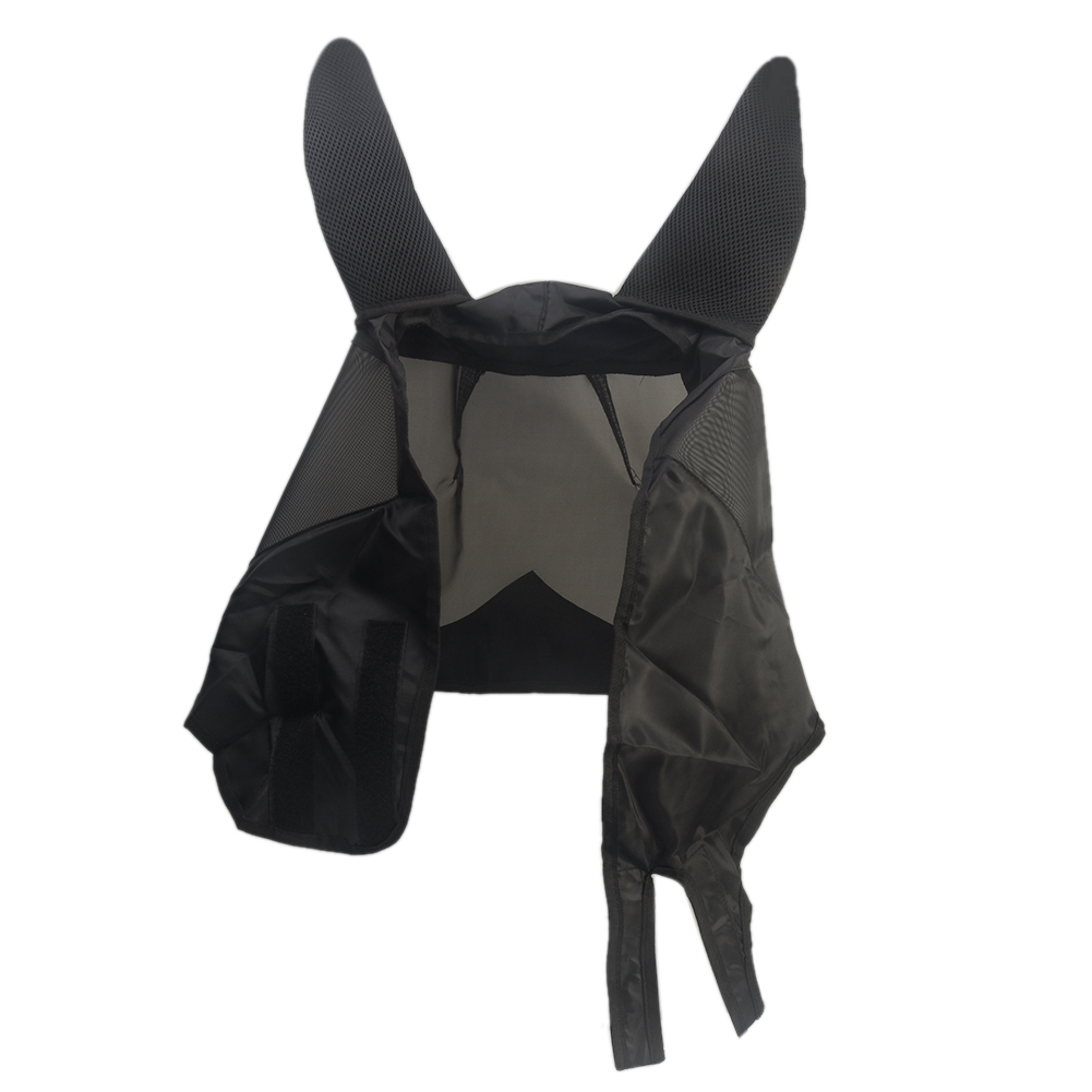 Durable Fly Mask Anti Mosquito Mesh Accessories Horse Summer Armour Ear Cover Practical Pet Supplies Protect Shield UV