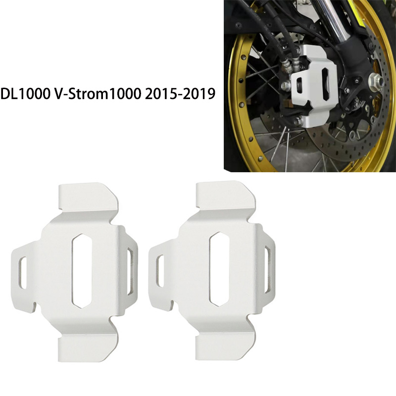 Motorcycle Disc Brake Caliper Front Caliper Cover Protective For Suzuki <font><b>DL1000</b></font> V-Strom1000 DL 1000 2015 2016 2017 2018 2019 image