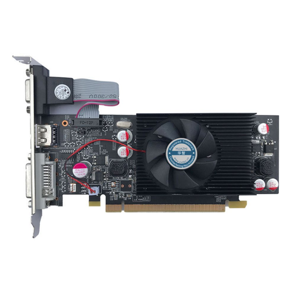 PNY NVIDIA GeForce VCGGT610 XPB 1GB DDR2 SDRAM PCI Express 2.0 Video Card Video-Grafikkarte Graphic Card