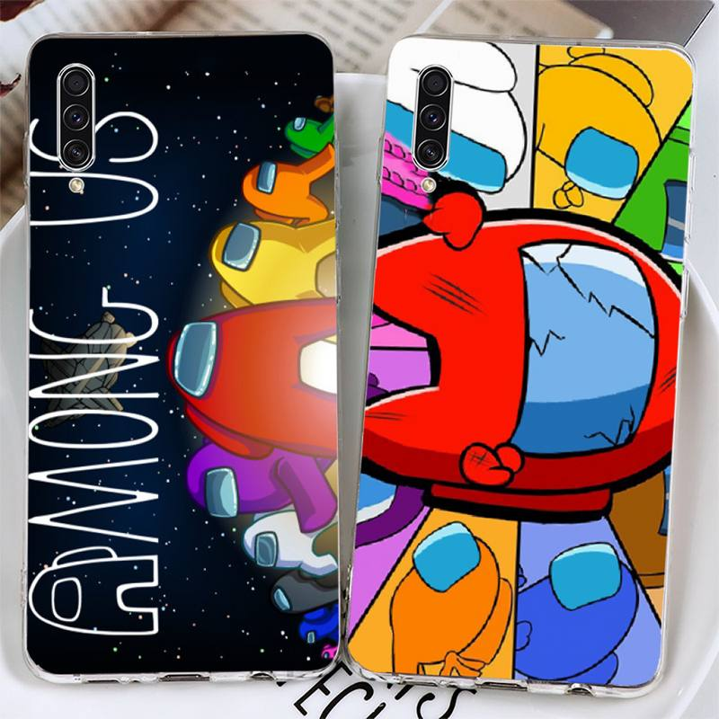 Among Us Phone Case For Samsung Galaxy S5 S6 S7 S8 S9 S10 S10e S20 edge plus lite