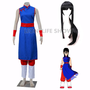 Anime DRAGON BALL Chichi Cosplay Costume custom made Dress High Quality Cosplay Wig anime assassination classroom ansatsu kyoushitsu kaede kayano cosplay costume custom made