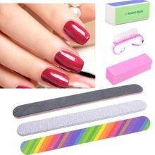 6Pcs/Set Proffessional Nail Files Brush Set Manicura Pedicura Nail Tool Tools Nail Decoration Decoration Y Art Set Files C1K4
