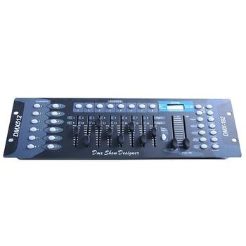 New 192 Dmx Controller Stage Light Dj Equipment Dmx Console for Led Par Moving Head Spotlight Dj Controller Dmx512,Eu Plug