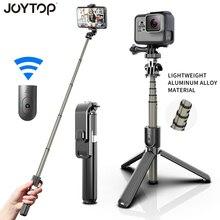 Neue Aluminium Legierung Bluetooth Selfie Stick Faltbare Stative & Einbeinstative Universal Für Gopro Sport Action Kamera Mobiltelefone
