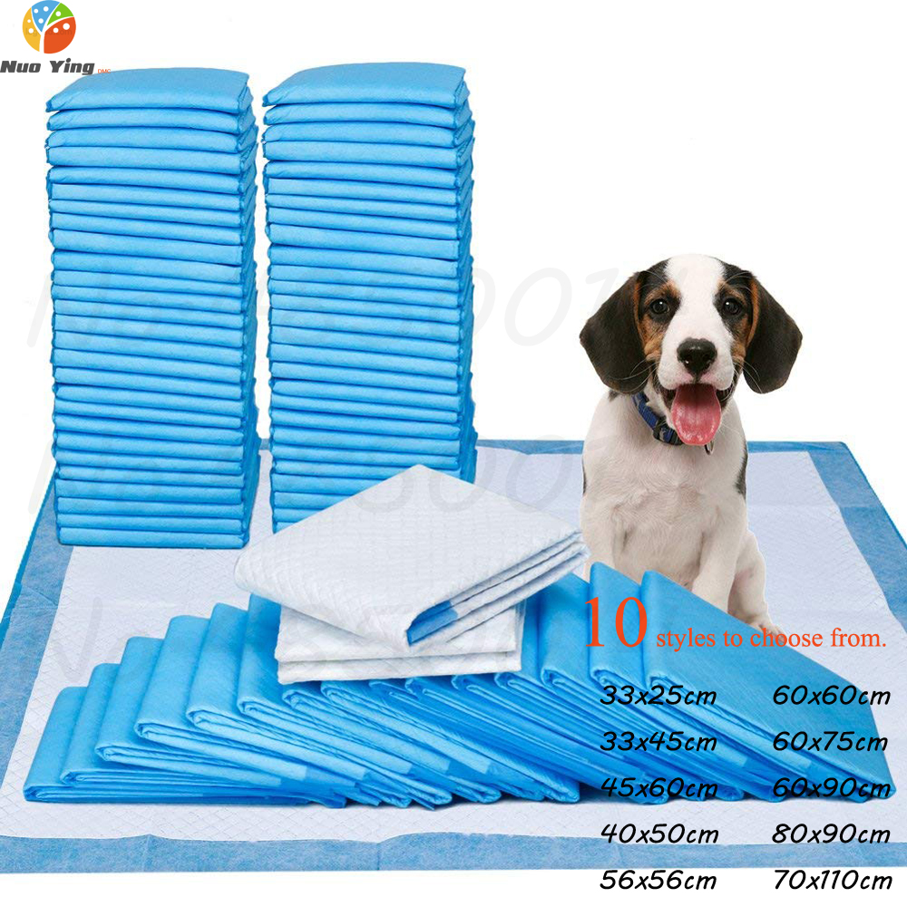 100Pcs Pet Diapers Absorbent Pet Dog Training Urine Pad Diapers For Puppy Dogs Cleaning Deodorant Diapers Pet Supplies