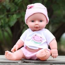 Reborn Baby Doll Soft Birthday-Gift Girl Boy Children Pink Toys Decorative-Ornaments
