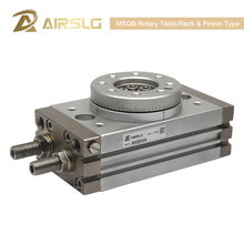 SMC Type Rotary Pneumatic Cylinder MSQB50R Adjustable 0-190 degrees MSQB10A MSQB20A MSQA30A MSQB50A  MSQB10R MSQB20R MSQA10A