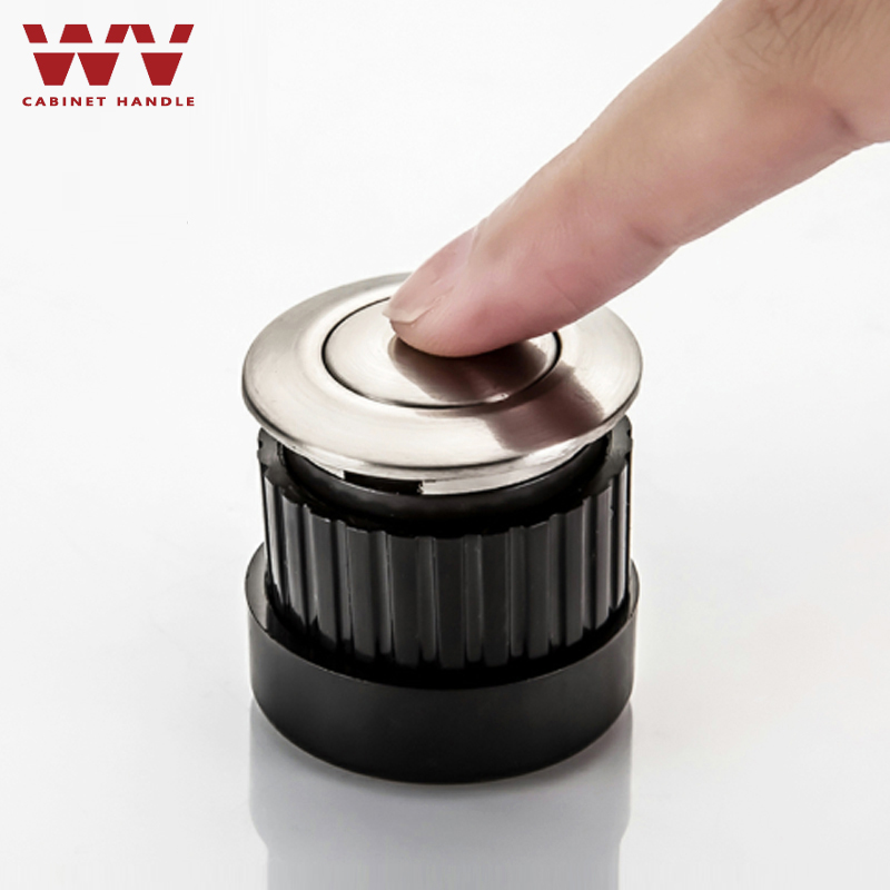 WV Hidden Embedded Furniture Handles Adjustable Spring Shake Knobs Invisible Handles Pulls and Knobs Cabinet Door Handles 128