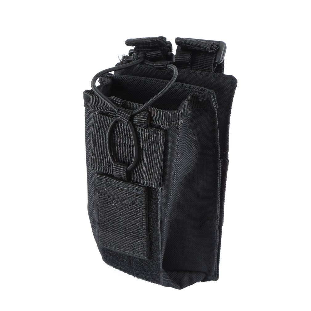 Tactical Molle Walkie-talkie Pouch Interphone Storage Bag Outdoor Molle Radio Pouch For Military Use Walkie-Talkie Case Holder