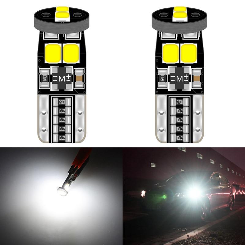 2pcs Canbus T10 W5W 168 194 LED Clearance Parking Lights Bulbs For Kia Rio K2 K3 K5 K4 KX5 Cerato Soul Forte Sportage R Sorento