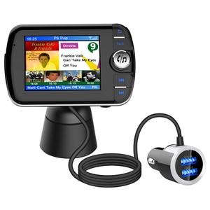 Image 5 - DAB004 DAB 디지털 라디오 수신기 LCD 컬러 스크린 디스플레이 블루투스 라디오 어댑터 지원 MP3 음악 USB 충전기 자동차에 대 한