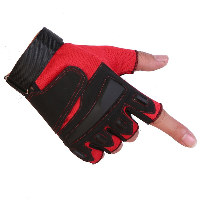 Air-permeable Anti-skid Weightlifting Protector Dumbbell Instrument Training Extended Tactical Wrist Protector Gloves