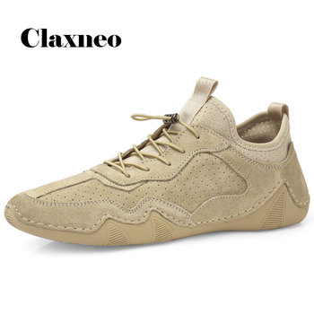 Man Shoes Suede Leather Sneakers 2020 Summer Men Casual Shoe Fashion Breathable Leisure Footwear Soft